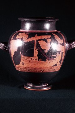 Odysseus sets sail from Troy not knowing the journey home would take him 10 years.