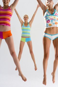 Jumping jacks are a simple way to burn calories to lose fat.