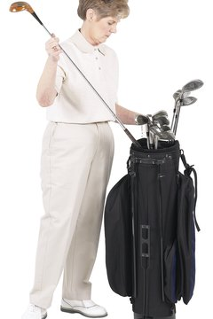 The purchase of golf clubs is deductible if you can show that your golf is a business.