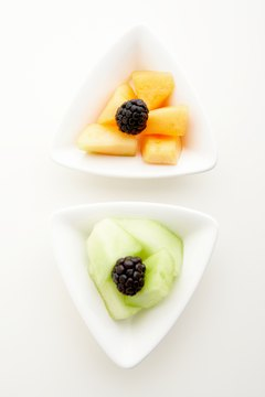 Cantaloupe and honeydew are types of muskmelon, which originated in Iran.