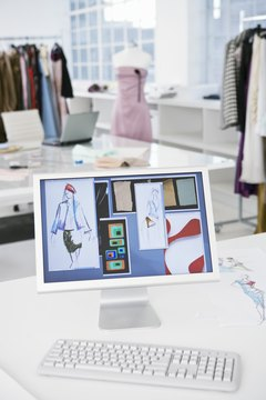 Fashion design degrees help to prepare designers for the workforce.