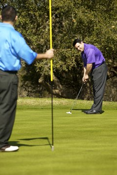 Putting out of order could violate the rules of golf etiquette.