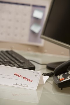 Your state may have pay stub laws regarding direct deposit.