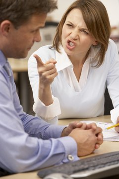A rude colleague who loudly burps and sniffs can incite a confrontation.