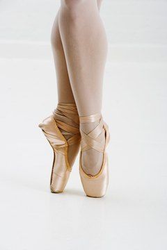 Ballet dancers have very strong calves.