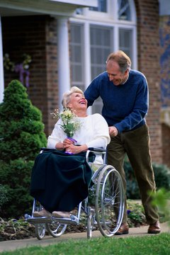 A disabled person might qualify for a spousal Roth IRA.