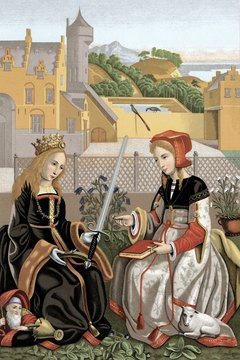 Women filled a variety of important roles throughout the Middle Ages.