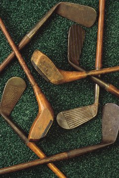 Beech and ash were commonly used to make golf clubs in the game's early days.