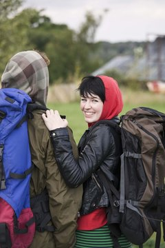 Backpacking is a fun, bone-strengthening activity.