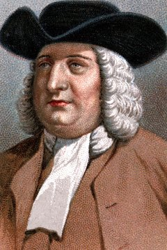 Quaker William Penn founded Pennsylvania.