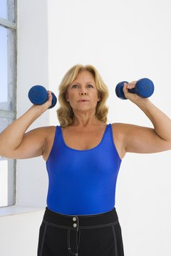 Dumbbells, which are typical hand weights, can give you a full-body workout.