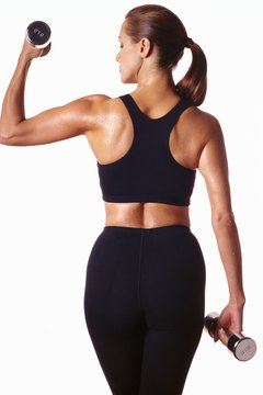Dumbbells help your arms go from flab to fab.