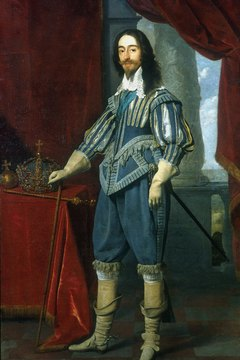 King Charles I led the Cavaliers in the English Civil War.