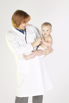 A love for babies and small children is a common quality in pediatricians.