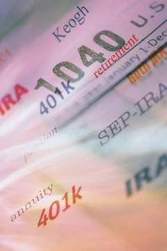 Tax laws regulate retirement fund withdrawals.