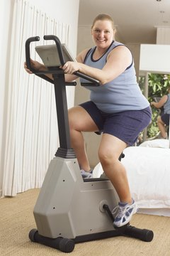 You may not lose weight simply by exercising.