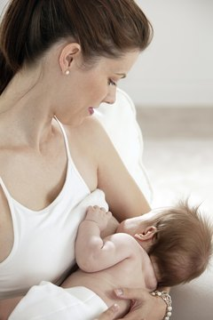 Lactation consultants teach the benefits of breastfeeding.