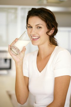 While soda just delivers carbs, milk provides carbs, proteins, vitamins and minerals.