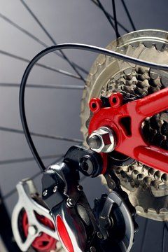 The drivetrain consists of a chain, one or more chainrings, a cassette, and one or two derailleurs.