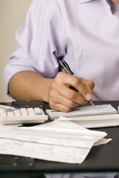 Writing a monthly budget is the first step towards taking control of your finances.