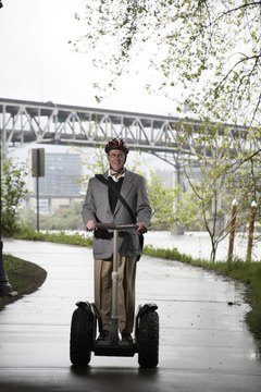 The Segway was introduced in 2001.