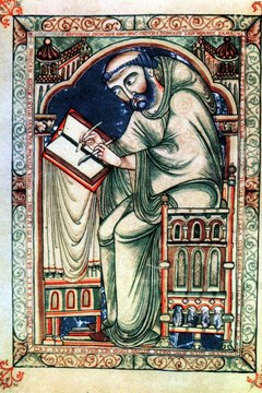 Monks were some of the most highly educated people in the Middle Ages.