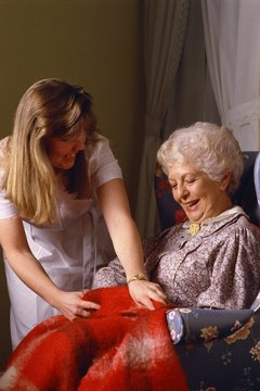 Nursing assistants provide daily care to help maintain their residents' quality of life.