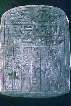 Symbolism is synonymous with hieroglyphics in ancient Egypt.
