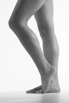 Tone your calves from all angles by changing your toe position.