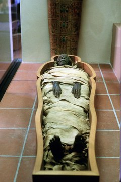 Mummification was a painstaking and measured process.