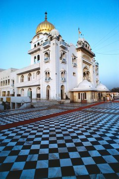 Before cremation, funeral ceremonies for Sikhs are conducted in a Sikh temple.