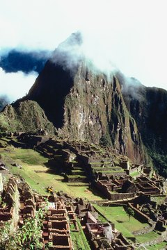 Macchu Picchu is designated as a UNESCO World Heritage site.