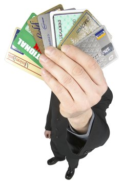 A lot of credit card debt can lower your credit rating.
