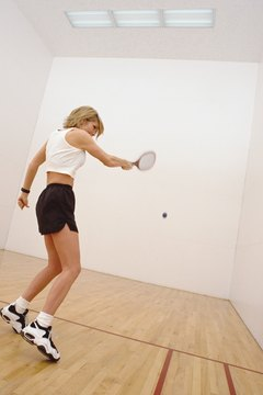 Racquetball serves up a great deal of health benefits.