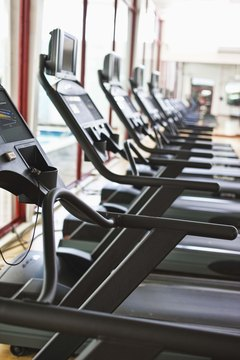 The treadmill helps keep your metabolism active.