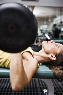 Lift heavy weights with few repetitions to gain lean muscle.