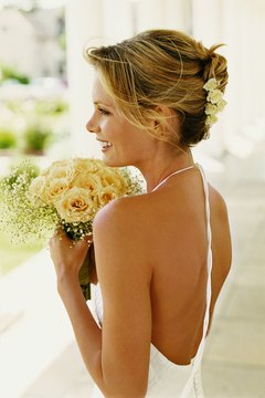Turn heads on your big day by looking sexy and fit in your dress.