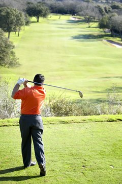 Proper aim is one of the steps that will help you split the fairway.