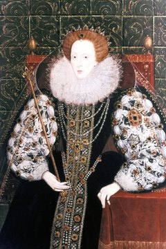 Though popular with the English people, Queen Elizabeth I feared assassination during her later years.