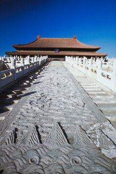 The Ming Dynasty built the Forbidden City in Beijing.