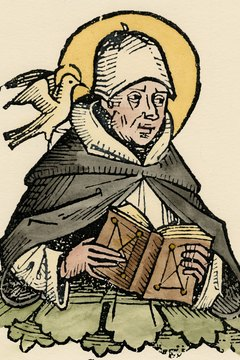 The first doctor of the church, Thomas Aquinas wrote the Summa Theologiae.