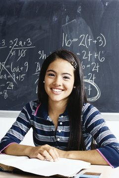 When confidence increases, math scores typically improve.