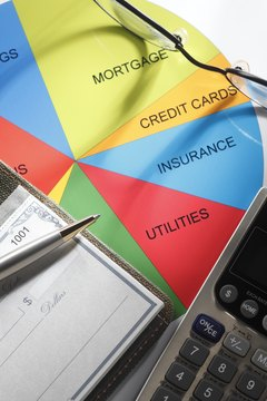 Paying down credit card debt first requires establishing a budget.