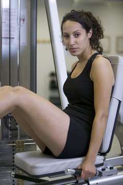 The leg press can help you develop your leg muscles for running or other sports.