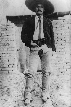 Emiliano Zapata led rebels seeking land reform.