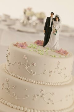 The wedding cake is just one wedding component for which the bride's family pays.