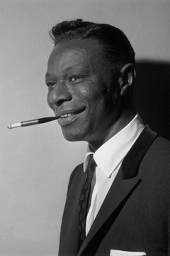 Nat King Cole was among the entertainers at Chez Paree in Chicago.