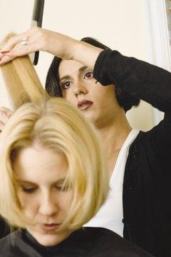 Hairstylists help customers to look their best.