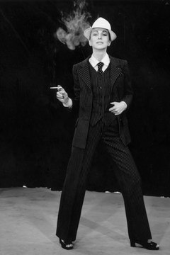Yves St. Laurent's androgynous fashion reflected the rise of women's equality.