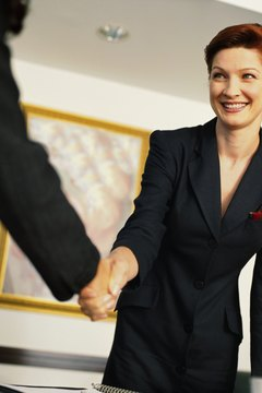 A professional appearance contributes to a good first impression.